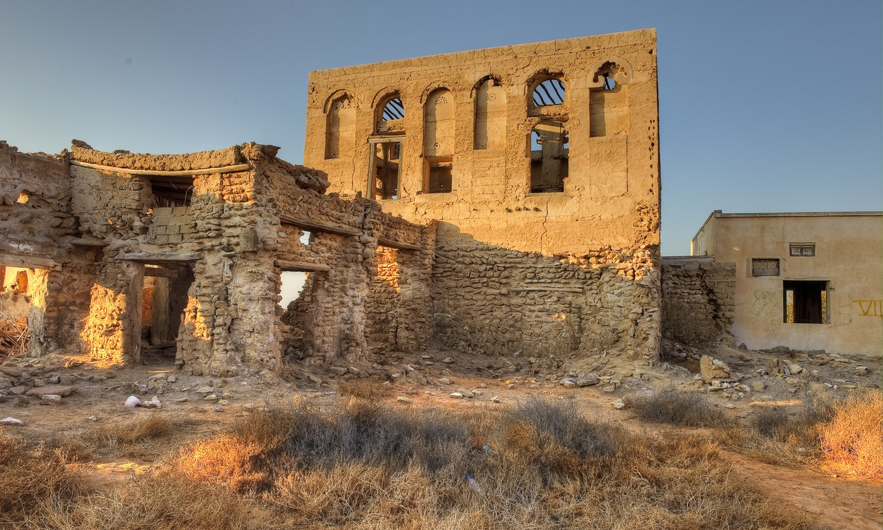 In Ghost Town Al Hamra Ras Al Khaimah